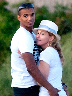 Madonna, Brahim Zaibat Hit Unlikely Vacation Spot