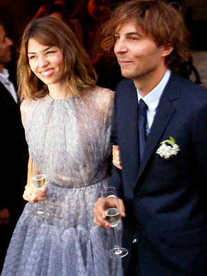 Sofia Coppola, Thomas Mars Wed in Italy
