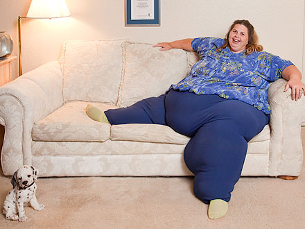 'Heaviest Living Woman' Pauline Potter