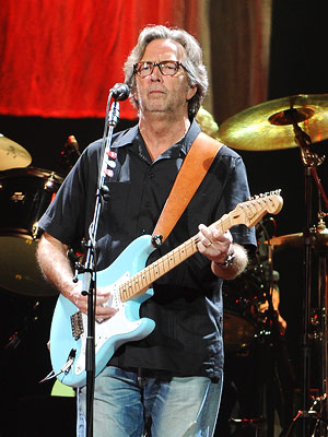 Eric Clapton Wedding Singer for Daughter Ruth
