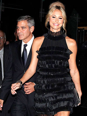 George Clooney, Stacy Keibler Are Fun Couple