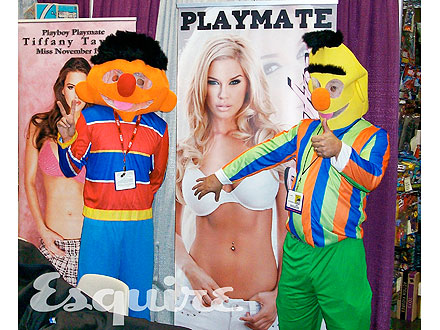 Justin Timberlake's Comic-Con Costume Disguise: Ernie from Sesame Street