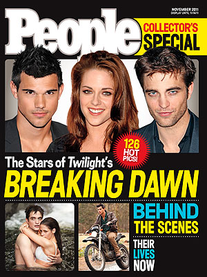 Twilight Breaking Dawn Collector's Issue by PEOPLE Magazine