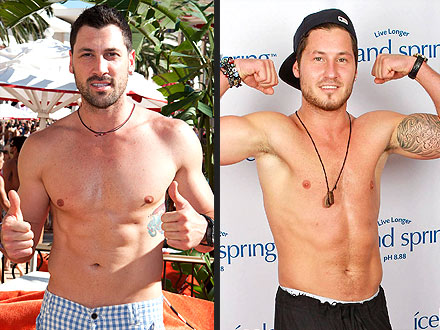 Maksim Chmerkovskiy Vs. His Brother Val: Who's Hotter?
