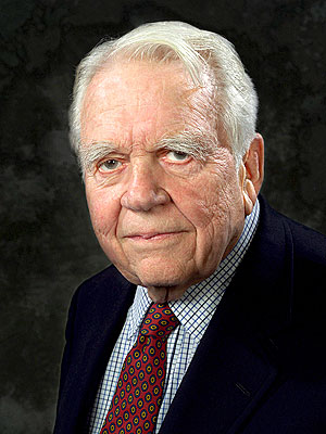 Andy Rooney Hospitalized in Stable Condition