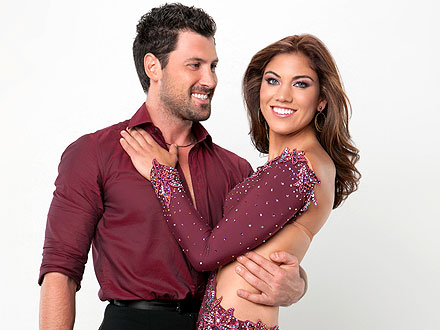 Dancing with the Stars: Hope Solo Defends Maksim Chmerkovskiy