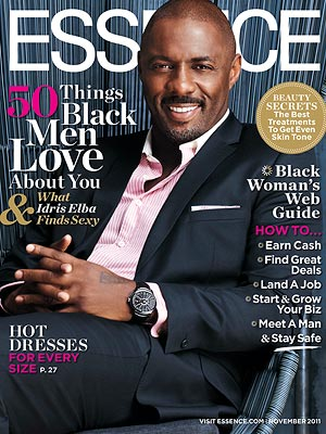 Idris Elba Talks Turn-Ons in Essence Magazine