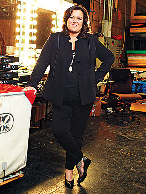 Rosie O'Donnell Girlfriend Michelle Rounds Lends Support to The Rosie Show