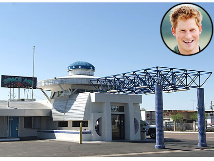 Prince Harry: Place to Stay in Arizona