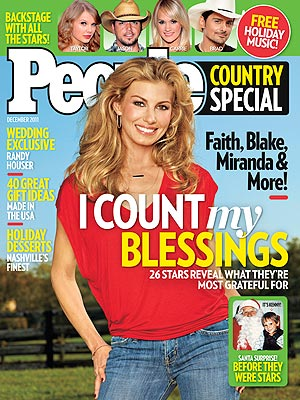 Faith Hill: Tim McGraw Inspires Me