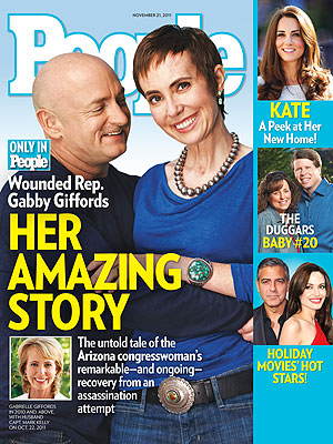 Gabrielle Giffords Book Excerpts in PEOPLE Magazine