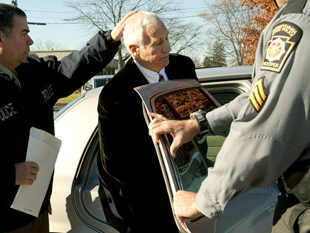 ... : Jerry Sandusky Arrested Again, More Victims Alleged : People.com