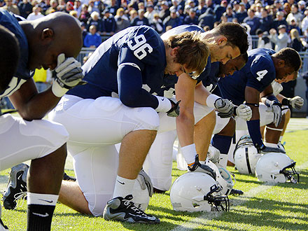 Penn State Game: Fans and Players Have Moment of Silence for Abuse Victims