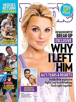Ali Fedotowsky: Why I Left Roberto - The Bachelorette, Ali Fedotowsky ...