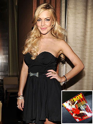 Lindsay Lohan Nude Photos from Playboy Leaked Online