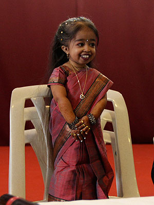 Guinness World Records' World's Shortest Woman: Jyoti Amge