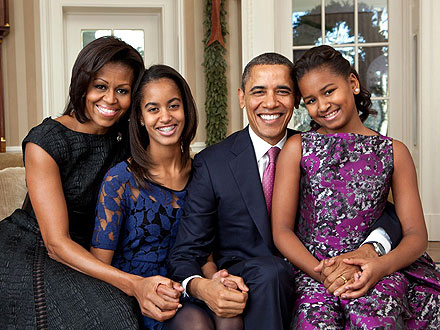 Obama Family Portrait Revealed