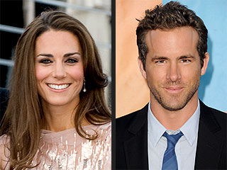 PEOPLE.com Readers Love Kate, Want to Date Ryan Reynolds | Kate Middleton, Ryan Reynolds