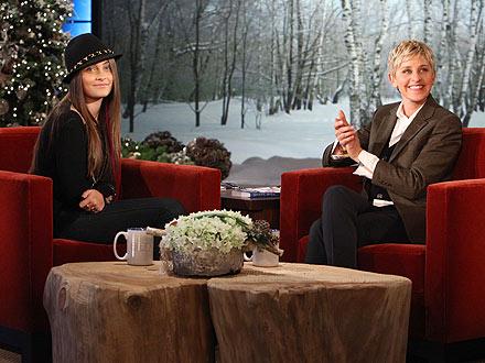 Michael Jackson's Daughter Paris Jackson Talks to Ellen DeGeneres About Acting