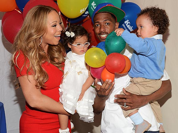 Mariah Carey, American Idol Judge, Celebrates Family Day with Nick Cannon