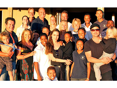 Angelina Jolie and Brad Pitt Donate $2 Million to Wildlife Sanctuary