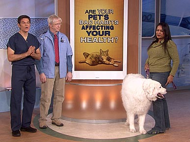 Dr. Oz: Kissing Your Dog Can Make You Sick