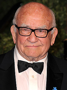 Ed Asner Has One 'Einstein' Cat, and One 'Doofus'