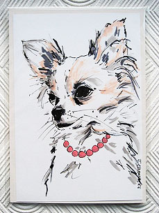 Glam Up Your Walls with a Custom Portrait – of Your Pet