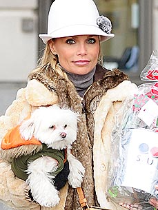 Kristin Chenoweth's Dog Is on the Mend After Health Scare