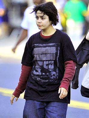Vanessa Hudgens Shocking Photos on Set of Gimme Shelter