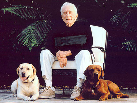 Kirk Douglas: 'I Could Never Live Without Dogs'