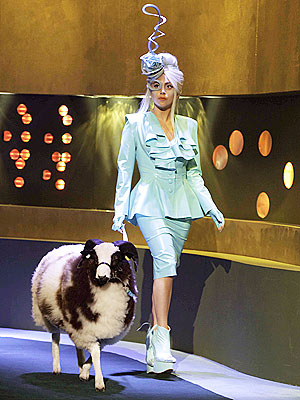 Lady Gaga Brings Sheep to Jonathan Ross