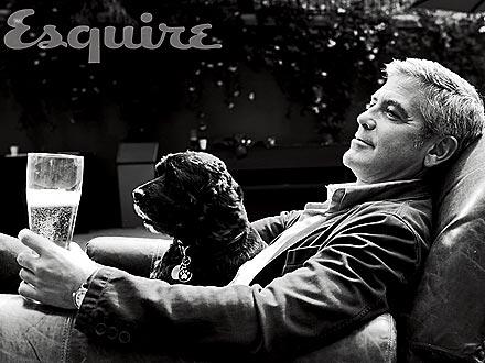 George Clooney Rubs Meatballs on Feet