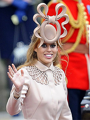 Princess Beatrice Hat at Royal Wedding, Philip Treacy Defends It