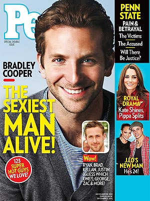 Bradley Cooper: Sexiest Man Alive 2011 on PEOPLE