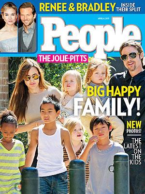 Inside Brad Pitt & Angelina Jolie's Family Life
