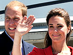 Stars&#39; Airport Style | Kate Middleton, Prince William