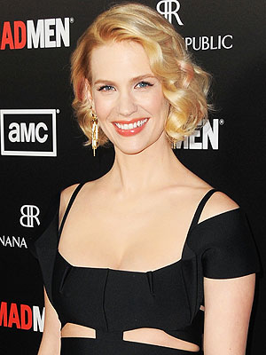 January Jones Mad Men Returns