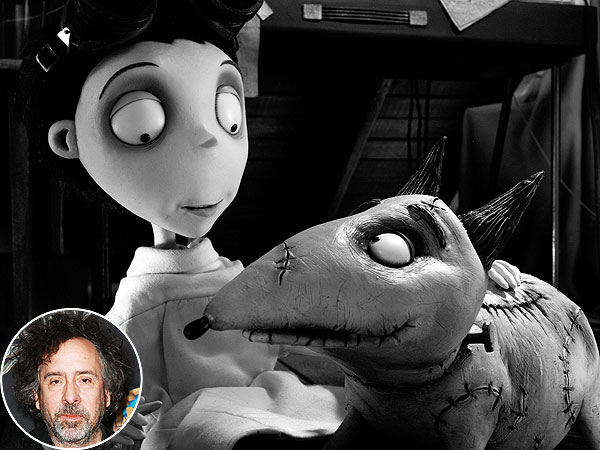 Tim Burton Talks Frankenweenie Inspiration, Dog Pepe