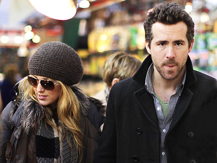 Blake Lively and Ryan Reynolds Dating - Spotted in Vancouver
