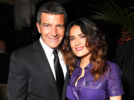 Salma Hayek's (Sort of) Double Date with Antonio Banderas and Melanie Griffith
