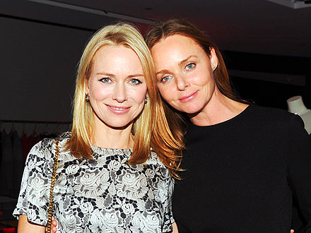Naomi Watts Gets a Delicious (Vegetarian) Preview of Stella McCartney&#39;s N.Y.C. Store