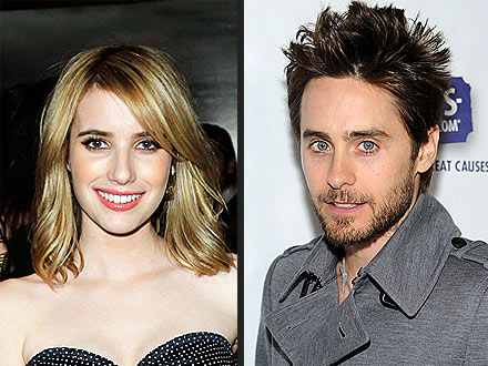Emma Roberts Meets Jared Leto, Raves About His Hotness!