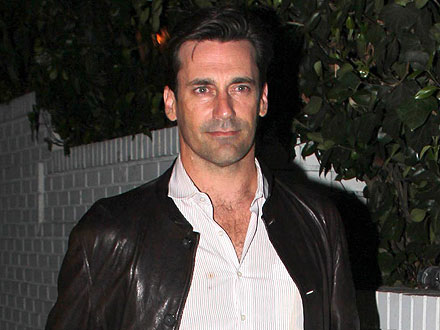 Jon Hamm Flies Under the Radar at Chateau Marmont