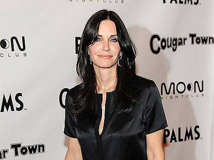 What Was Courteney Cox Doing in a Kitchen in Las Vegas?