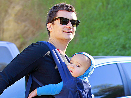 Orlando Bloom & Son Flynn Have an Arty Outing in L.A.