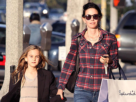 Courteney Cox Buys Clothes for Daughter Coco