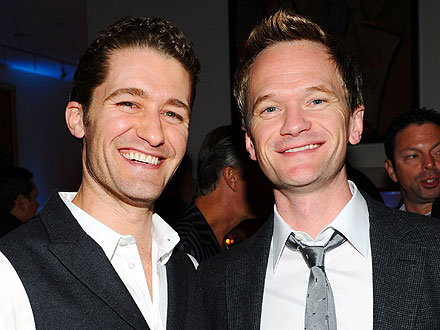Neil Patrick Harris, Matthew Morrison Take in the Indy Skyline