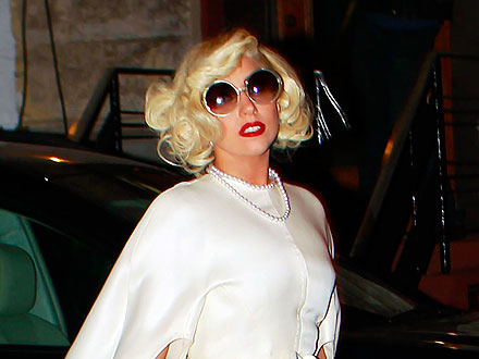 Lady Gaga Goes to Happy Hour
