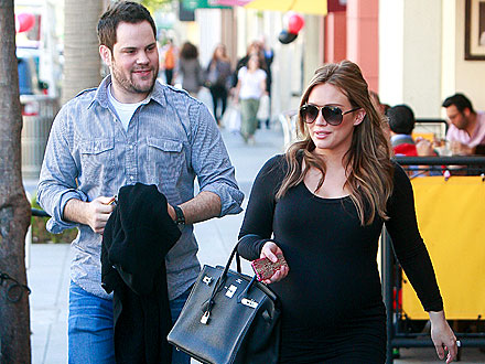 Hilary Duff & Mike Comrie Step Out for Grown-Up Dinner Date
